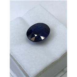 GENUINE ENHANCED BLUE SAPPHIRE (APPROX. 8CT).