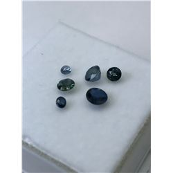 GENUINE BLUE SAPPHIRE (APPROX. 2.5CT) (2X4MM).