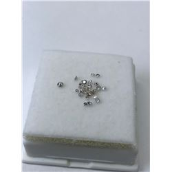 GENUINE ASSORTED LOOSED DIAMONDS (APPROX. 0.30CT).