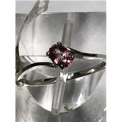 14KT GOLD PINK SAPPHIRE(0.31CT) RING