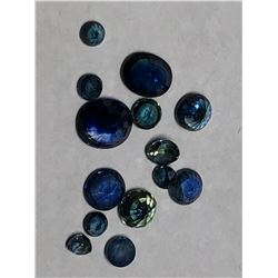 GENUINE BLUE SAPPHIRE(APPROX 2.5CT) GEMSTONE(SEPTEMBER BIRTHSTONE)
