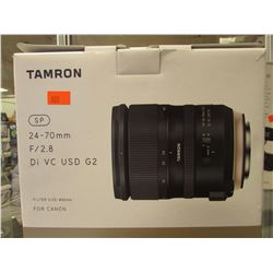 TAMRON 24-70MM F/2.8 DI VC USD G2 FOR CANON