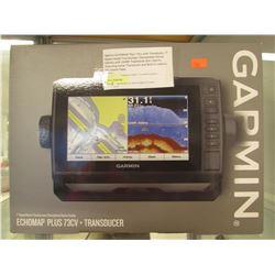 GARMIN ECHOMAP PLUS 73CV + TRANSDUCER