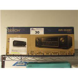 DENON AV RECEIVER MODEL AVR-S530BT