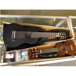 2 SMALL GUITARS