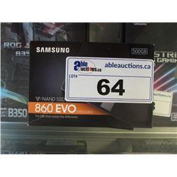 SAMSUNG 500GB V-NAND 860 EVO SSD