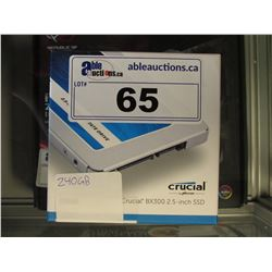 CRUCIAL 240GB SOLID STATE DRIVE