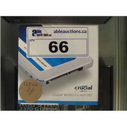 CRUCIAL 120GB SOLID STATE DRIVE
