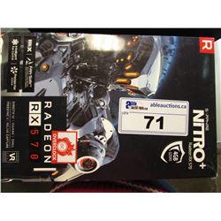 SAPPHIRE NITRO+ RADEON RX 570 VIDEO CARD 4GB