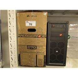 CORSAIR VENGEANCE C70 COMPUTER CASE