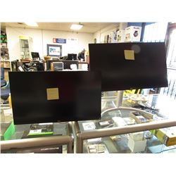 "2 LG 27"" MONITORS MODEL 27UK650 (FOR PARTS & REPAIR)"