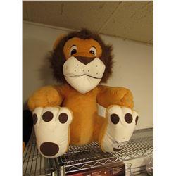 LARGE PLUSH LION STUFFED ANIMAL