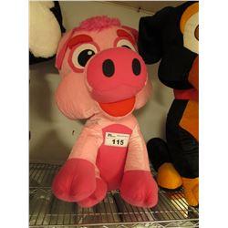 LARGE PLUSH PIG STUFFED ANIMAL