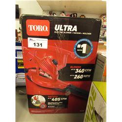 TORO ULTRA ELECTRIC BLOWER/VAC & MULCHER