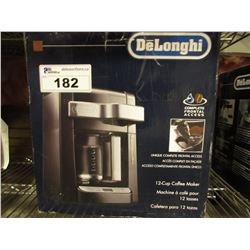 DELONGHI 12-CUP COFFEE MAKER