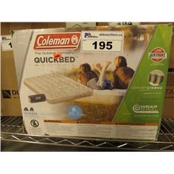 COLEMAN QUEEN SIZE QUICK BED