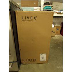LIVEX LIGHTING FIXTURE MODEL 2388-04