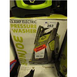 SUNJOE 2300 PSI ELECTRIC PRESSURE WASHER MODEL SPX3500