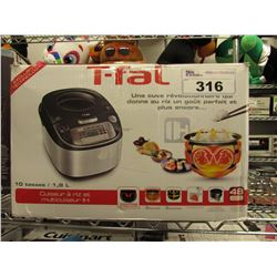 T-FAL 10 CUP RICE & MULTI COOKER