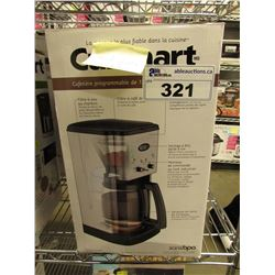 CUISINART BREW CENTRAL 12-CUP PROGRAMMABLE COFFEE MAKER