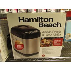 HAMILTON BEACH ARTISAN DOUGH & BREAD MAKER