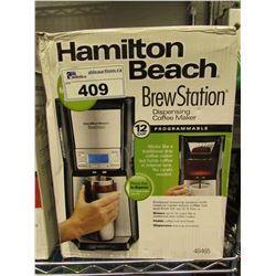 HAMILTON BEACH BREW STATION 12-CUP PROGRAMMABLE COFFEE MAKER