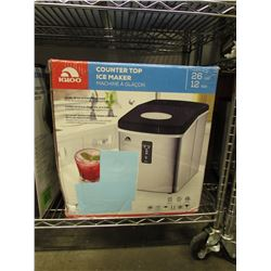 IGLOO COUNTER TOP 26 LB ICE MAKER