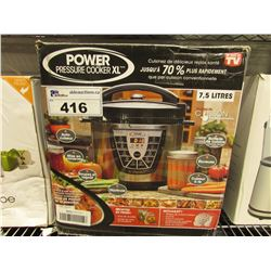 POWER PRESSURE COOKER XL 7.5L