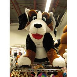 LARGE PLUSH DOG STUFFY