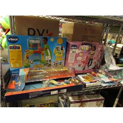 VTECH SMART SHOTS SPORTS CENTER, VTECH 3-IN-1 CARE & LEARN STROLLER, BEYBLADE, DISNEY PRINCESS TOY,