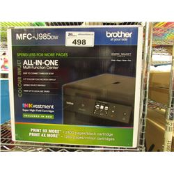 BROTHER MFC-J985DW ALL IN ONE PRINTER