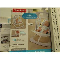 FISHER PRICE 2-IN-1 DELUXE TAKE-ALONG SWING & SEAT