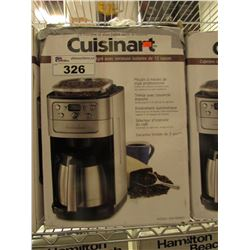 CUISINART BURR GRIND & BREW THERMAL 12-CUP COFFEE MAKER