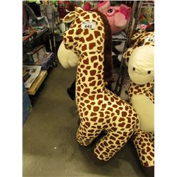 LARGE PLUSH GIRAFFE STUFFY