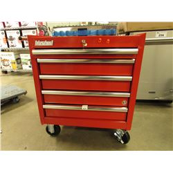 RED INTERNATIONAL ROLLING TOOL CHEST
