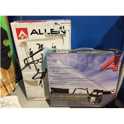 ALLEN SPORTS BIKE CARRIER & 2PCS. SKI & BOOT BAG SET