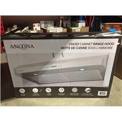 ANCONA UNDER CABINET RANGE HOOD - STAINLESS STEEL