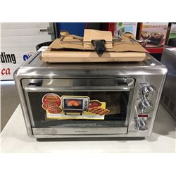 HAMILTON BEACH STAINLESS STEEL COUNTER TOP OVEN
