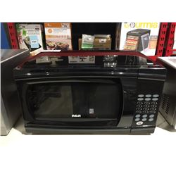 RCA 1000W BLACK MICROWAVE OVEN