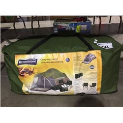BROADSTONE 8 PERSON DOME TENT WITH SCREEN ROOM