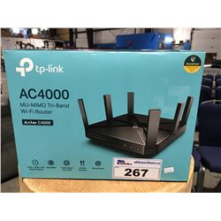 TP-LINK AC4000 WIFI ROUTER