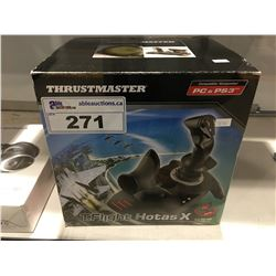 THE THURST MASTER T.FLIGHT  HOTAX CONTROLLER FOR PC & PLAY STATION 3