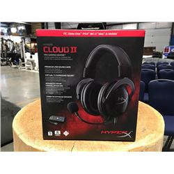 HYPER X CLOUD II PRO GAMING HEADSET
