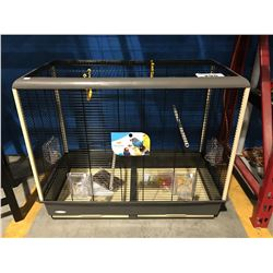 LARGE FERPLAST DELUXE BIRD CAGE