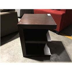 CONTEMPORARY CORNER END TABLE