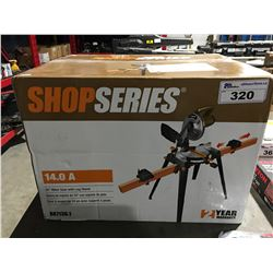 "SHOP SERIES 10"" MITRE SAW WITH LEG STAND"