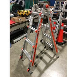 LITTLE GIANT LADDER SYSTEM COMBINATION LADDER