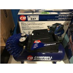 CAMPBELL HAUSFELD 3 GALLON AIR COMPRESSOR