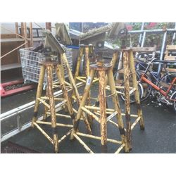 GROUP OF 5 BOAT STANDS