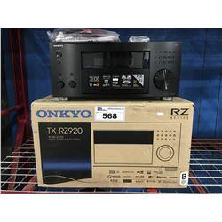 ONKYO MODEL TX-RZ920 AV RECEIVER